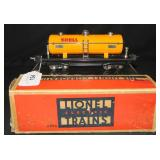 Nice Boxed Lionel 2815 Shell Tank Car