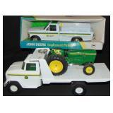 John Deere Toy Truck Lot of 3