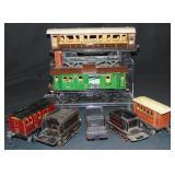 8 Marklin O & 1 Gauge Trains