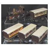 6 Piece English Outline Train Set