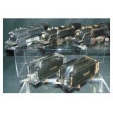 3 Lionel Steam Locomotives & Tenders