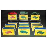 12 Boxed Matchbox Store Stock Vehicles