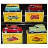 4 Boxed Matchbox GPW Vehicles