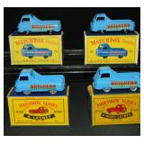 4 Boxed Matchbox 60 Builders Trucks