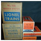 Clean Boxed Lionel Accessories