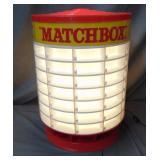Vintage Matchbox Light Up Store Counter Display