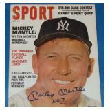 Mickey Mantle Signed Sport Magazine.