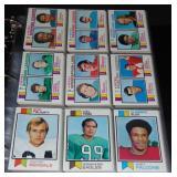 1973 Topps Football Card Set.