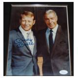 Mickey Mantle & Joe DiMaggio Signed Photo.