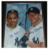Mantle and Berra Photo Signed.