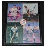 Yankees Hall of Famers Signed Photo.