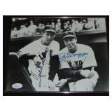 Ted Williams & Joe DiMaggio Signed Photo.