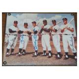 Yankee Great Signed Photo.