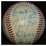 1984 Yankees Team Ball.