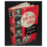 The Babe Ruth Story. Signed and Inscribed.