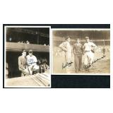 Lou Gehrig. Incredible Signed Photo.