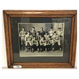 Impressive 1924 White Sox Baseball Cabinet Photo