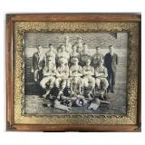 Huge Monarch Baseball Team Imperial Cabinet Photo