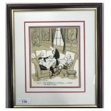 Wayne Stayskal, Original Bobby Hull Cartoon Art