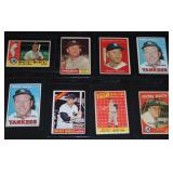 Mickey Mantle Card Lot.