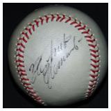 Roberto Clemente Single Signed Baseball.