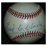 Fred C. Clarke Single Signed Baseball.