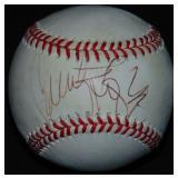 Jennifer Lopez Single Signed Baseball