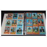 1971 Topps Football Card Complete Set.