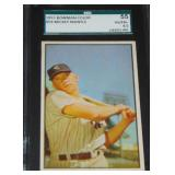 1953 Bowman Color Mickey Mantle.