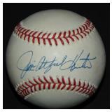 "Jim ""Catfish"" Hunter Single Signed Baseball"