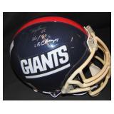 Lawrence Taylor Helmet Signed.