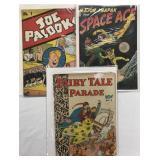 Lot of Three Comics.