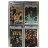 Lot of Four CGC Graded Books.
