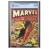 Marvel Mystery Comics #16 Graded.