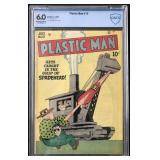 Plastic Man Comics #12 Graded.
