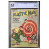 Plastic Man Comics #13 Graded.