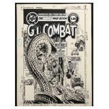 Joe Kubert. G.I. Combat Cover #262.