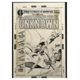 Joe Kubert. From Beyond the Unknown Cover.