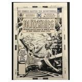 Joe Kubert. Blitzkreig #4 Original Cover Art.