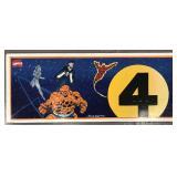 Charlie Hall Original Fantastic Four Art.