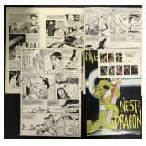 Comic Book Original Art.