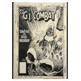 Joe Kubert. G. I. Combat #287 Original Cover.