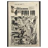 Joe Kubert. 1st Folio Original Cover Art.