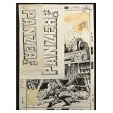 Joe Kubert. Panzer #1 Original Cover Art.