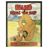 Pluto Saves the Ship #7, Large Feature, Dell