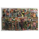 Marvel & DC Lot, Assorted Horror / Monster Titles