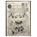Joe Kubert. Unexpected Original Cover #219.