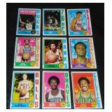 1974-75 Topps Basketball Card Set