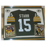 Bart Starr. Signed Jersey.
