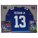 Odell Beckham Jr. Jersey Signed.